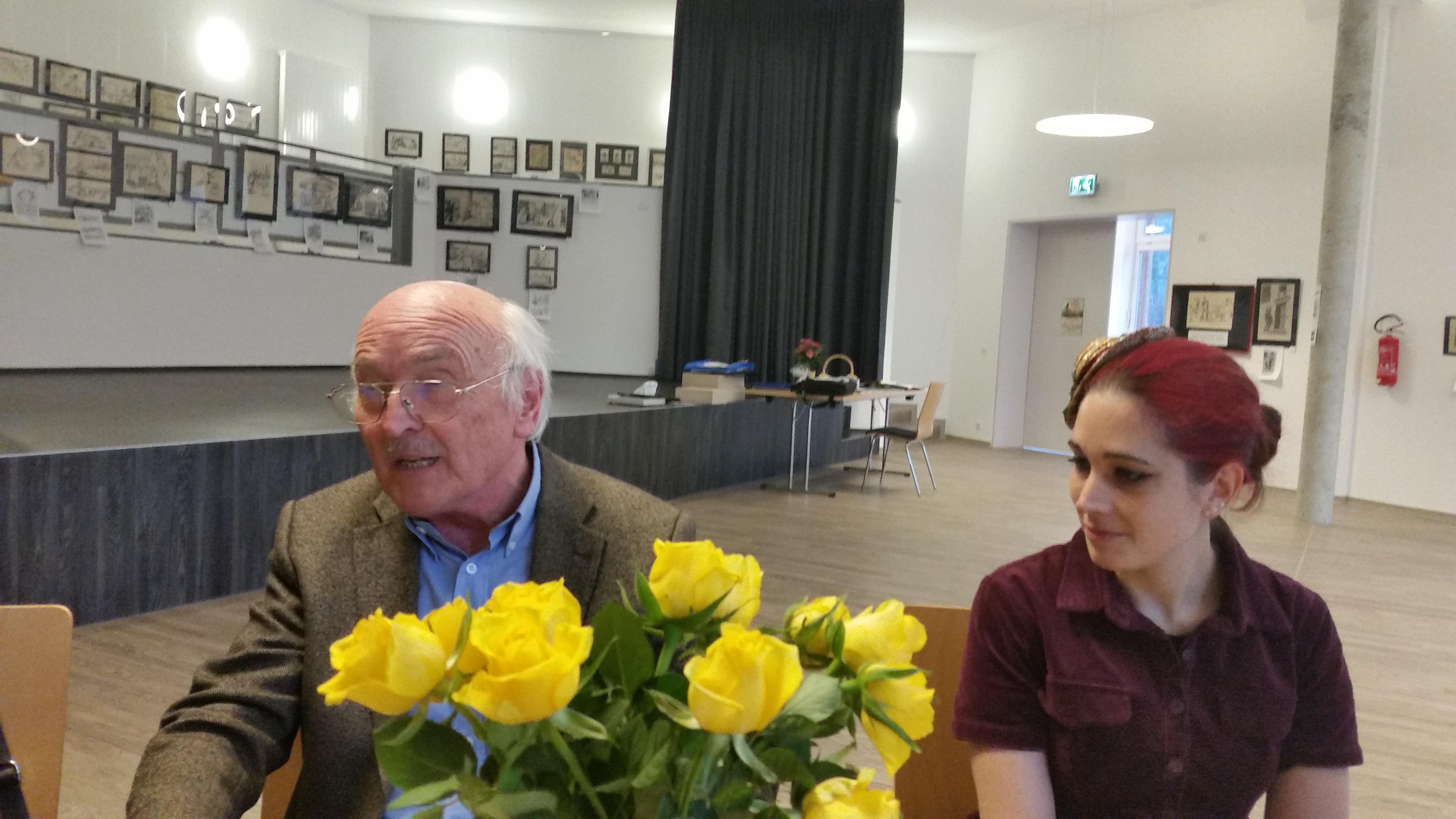 Die Urur-Enkelin und der Kneiß-Forscher
