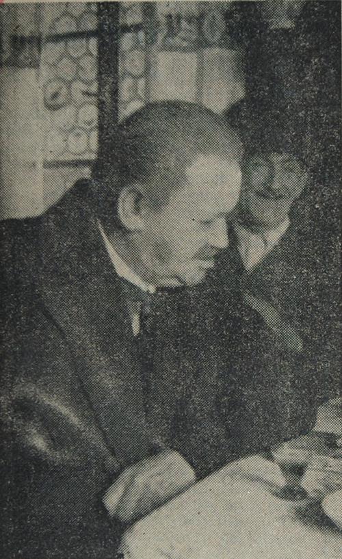 Emil Kneiß im Hrzgl. Bräustüberl Tegernsee