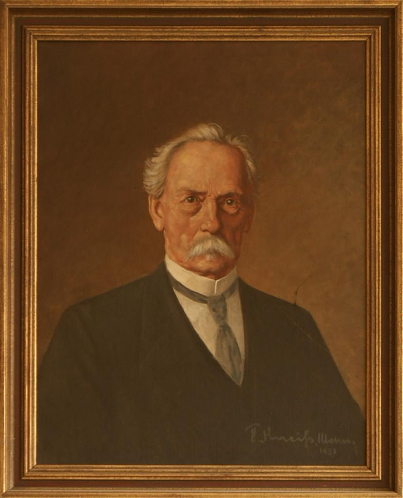 Portrait von Carl Benz (1937)