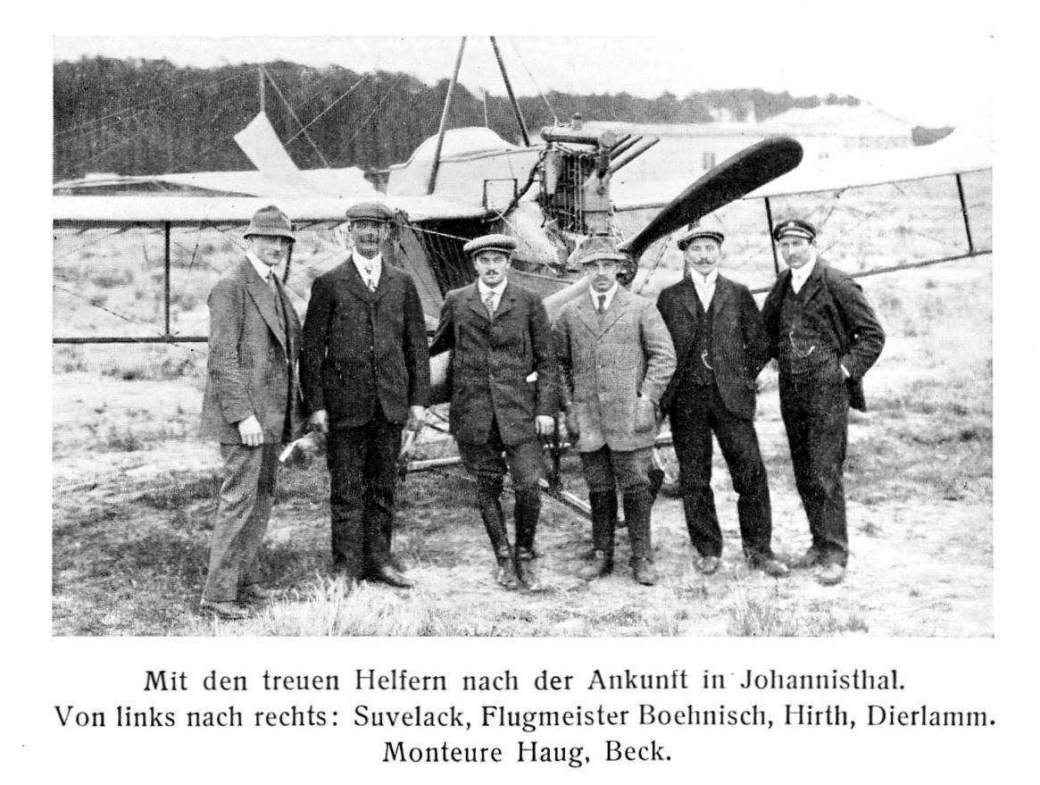 Hirths Kathreiner-Flug München -Berlin 1911