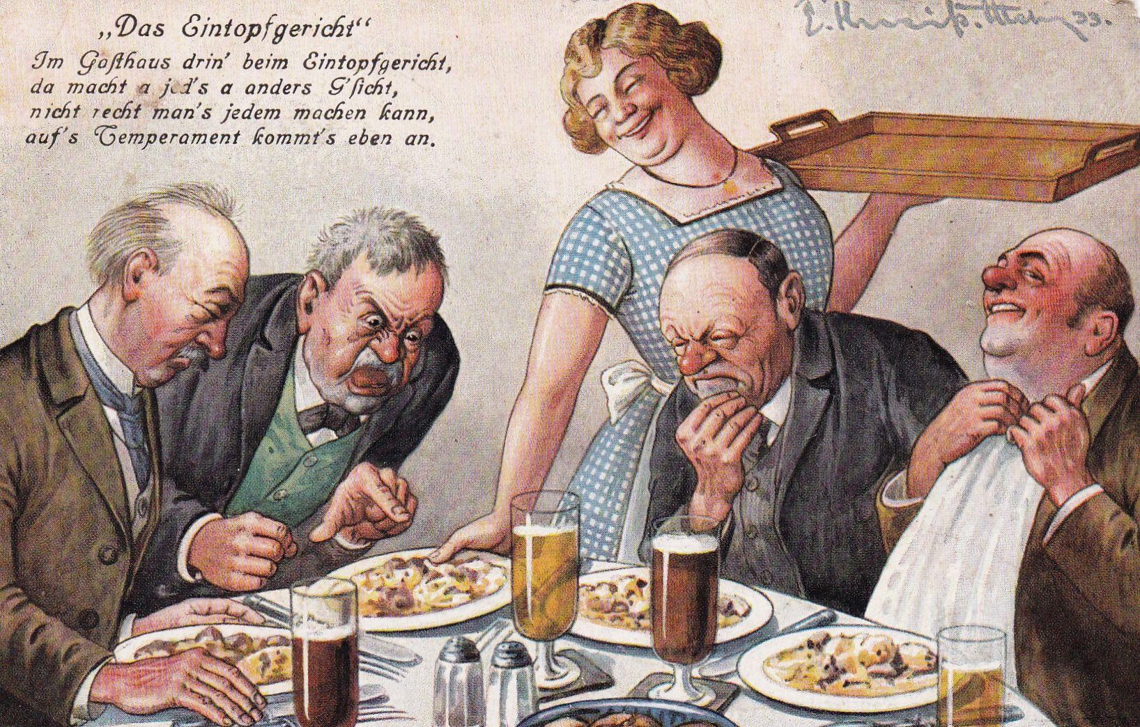 "Postkarte zum ""Eintopfsonntag"""