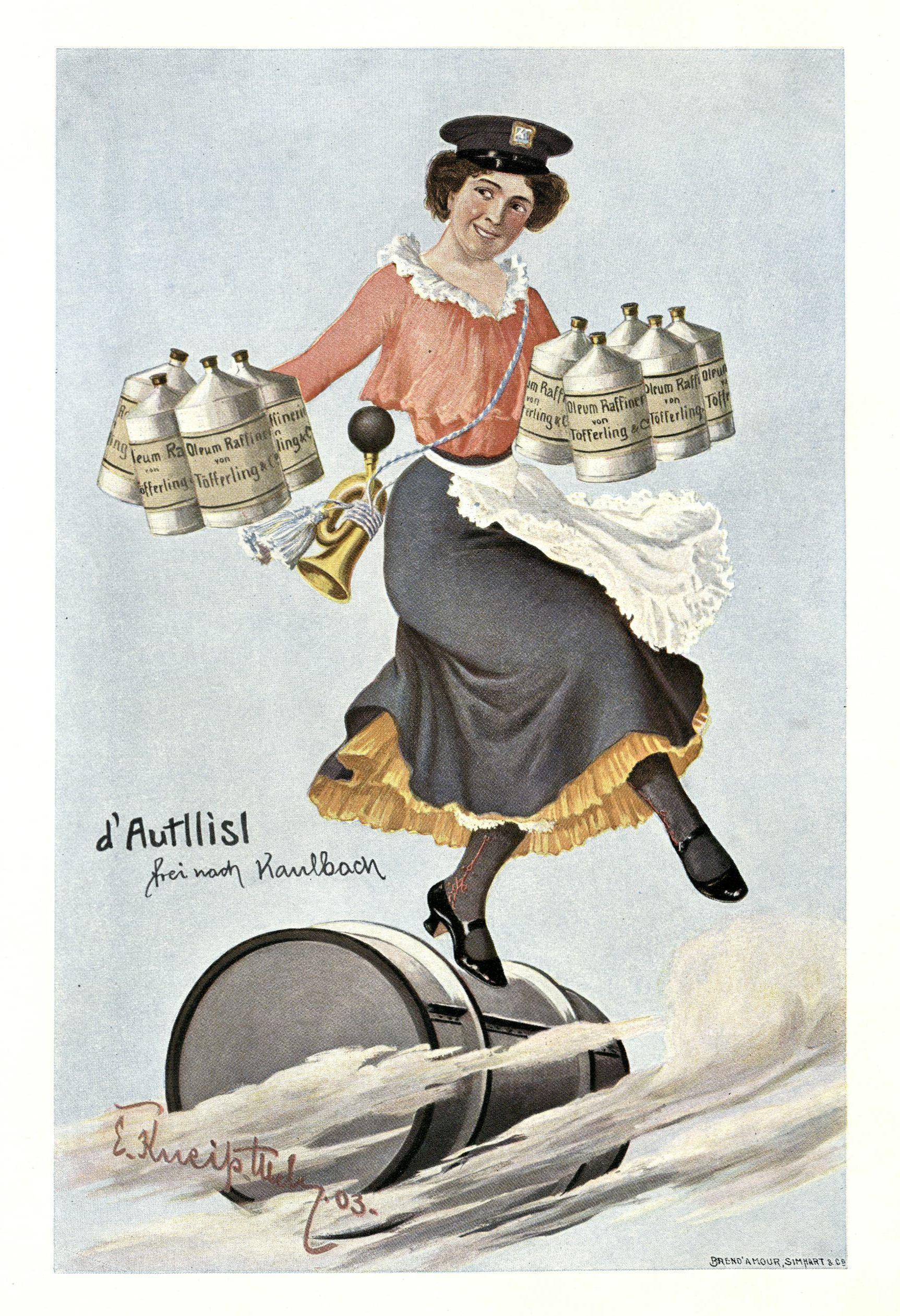 """d' Autllisl"" frei nach Kaulbach"