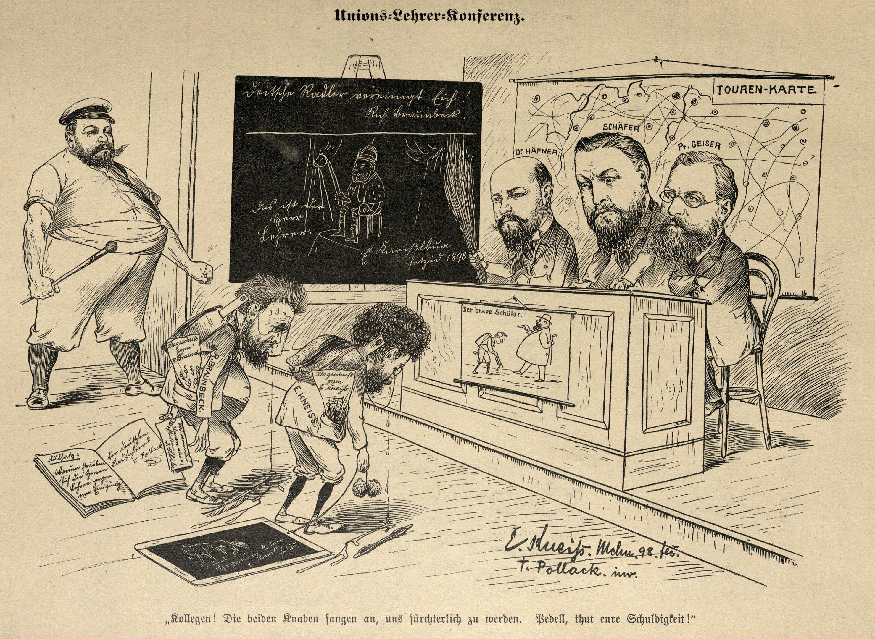 Kneiß und Braunbeck vor Gericht