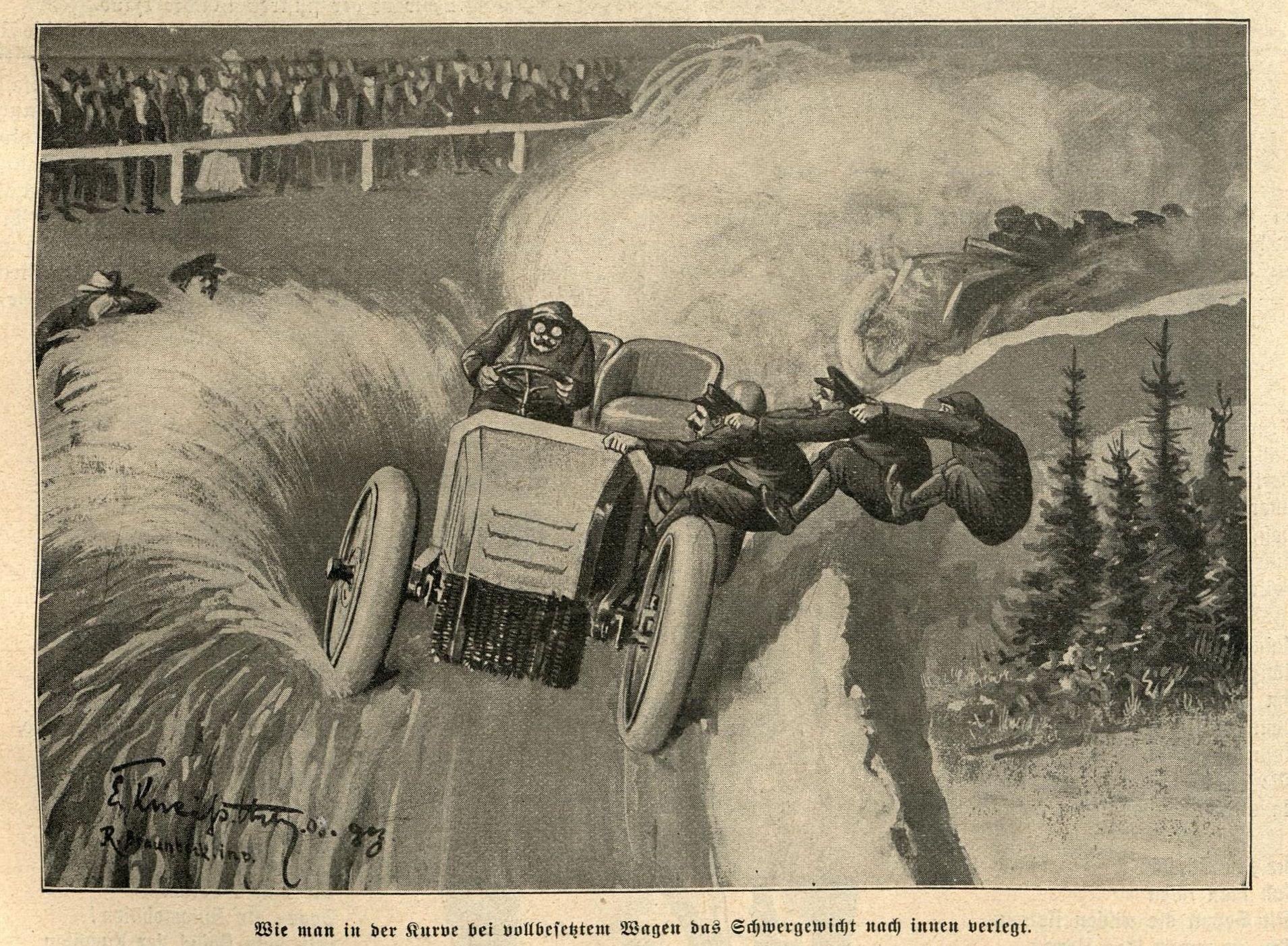 Bahnrennen 1903 in Frankfurt a. Main