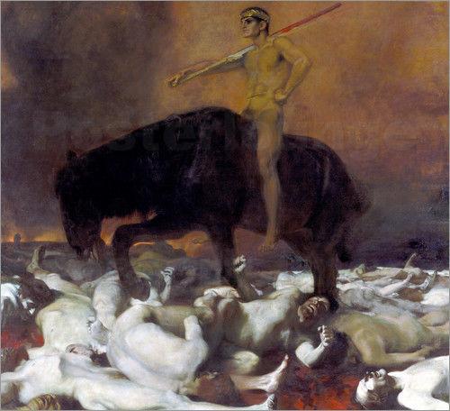 """""""Der Krieg"""" von Franz von Stuck"""