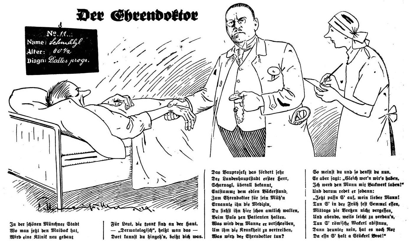 Der Ehrendoktor (Bürgermeister Karl Scharnagl)
