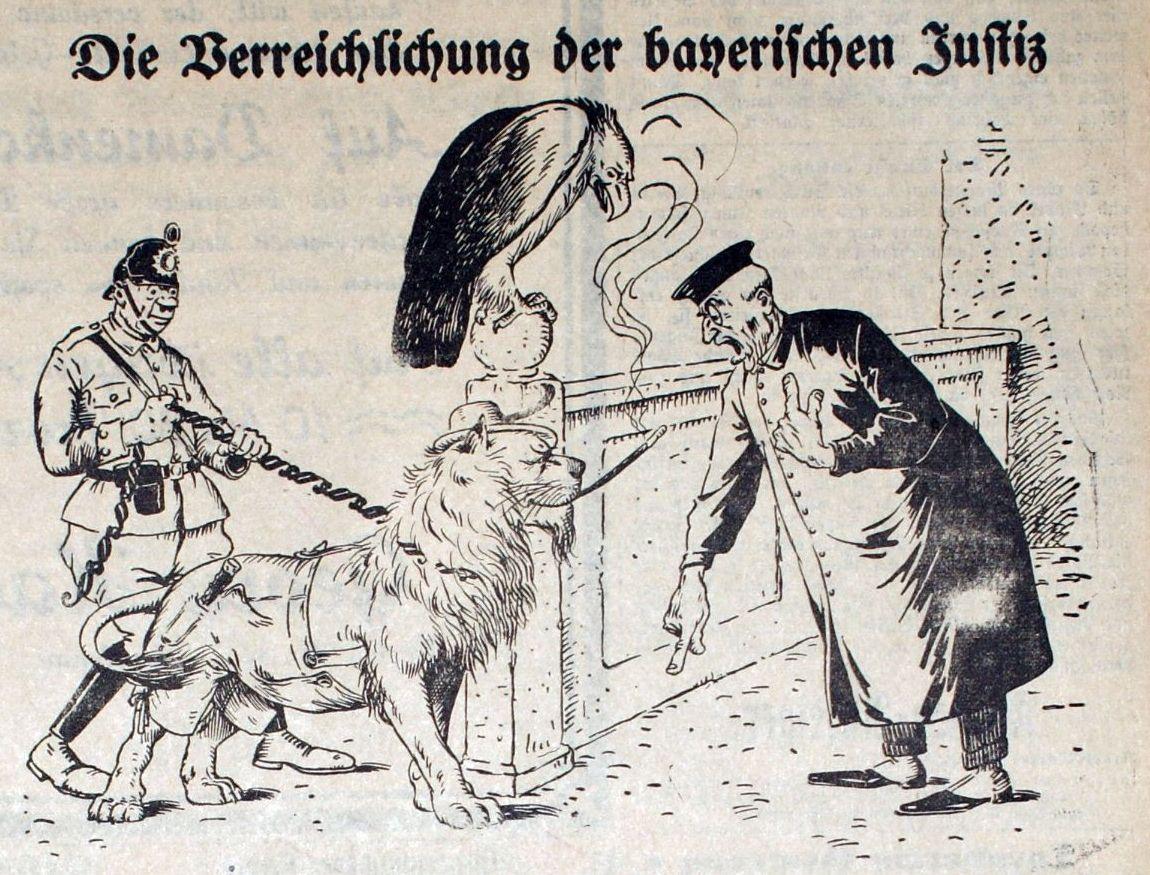 Die Verreichlichung der bayerischen Justiz
