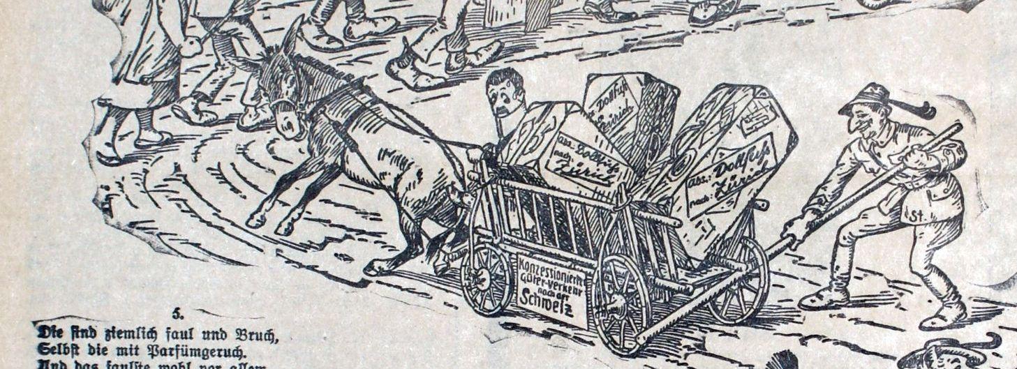 Faschingszug 1934/II Dollfuß und Starhemberg