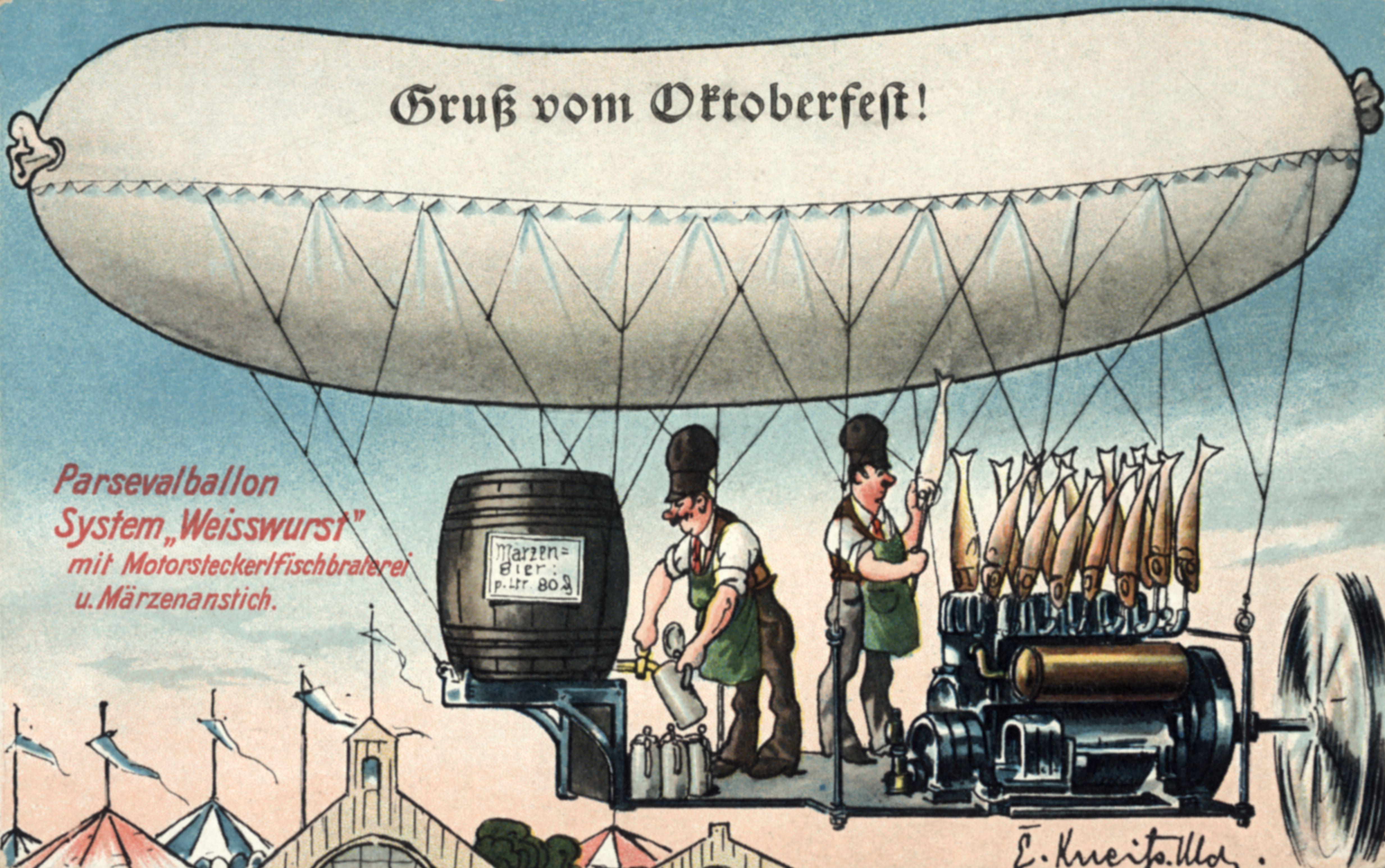 "Bild: Parsevalballon System ""Weisswurst"""
