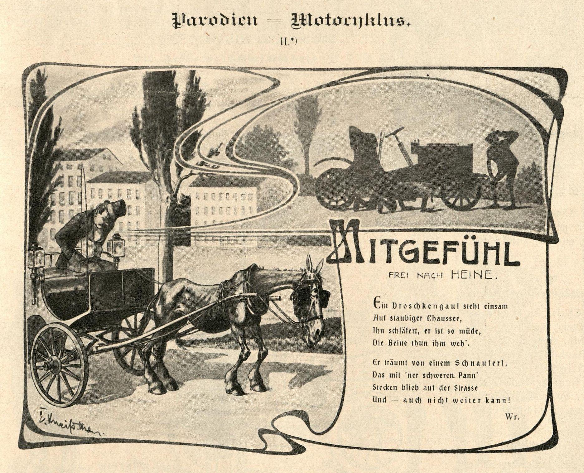 """""""Mitgefühl"""" nach H. Heine"""