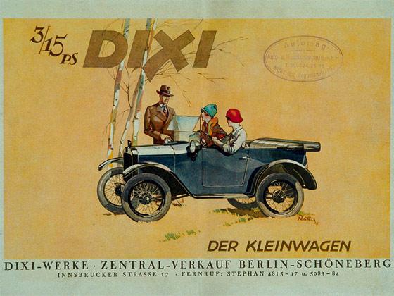 Bild Dixi der Kleinwagen