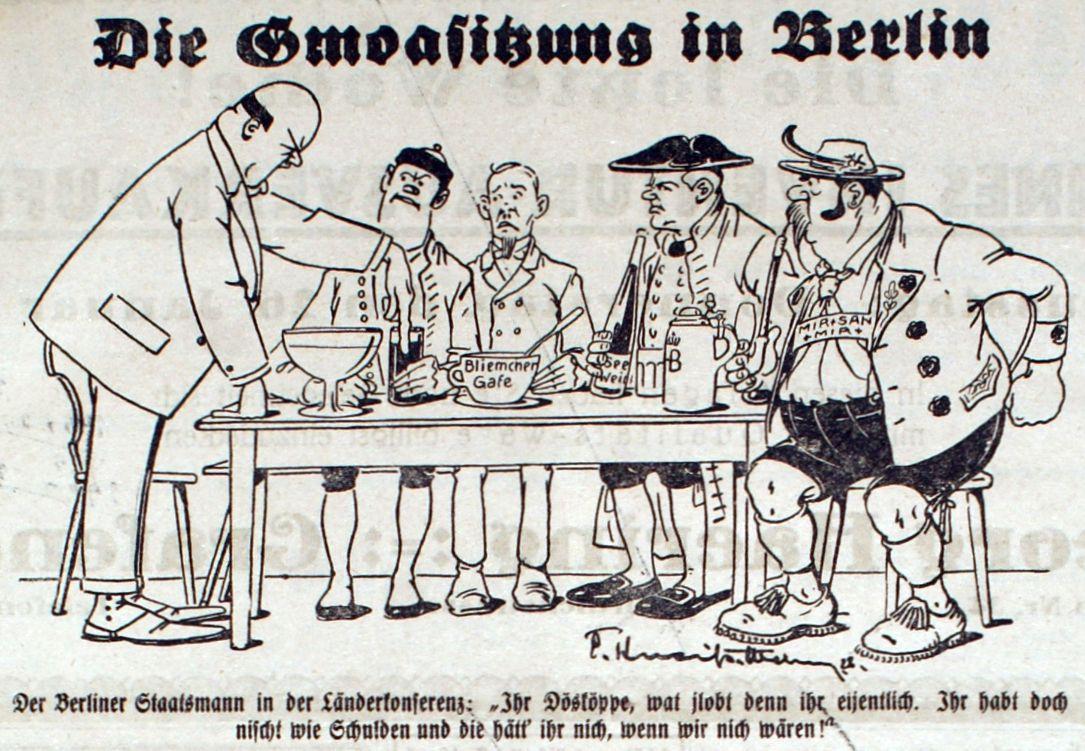Bild: Die Gmoasitzung in Berlin