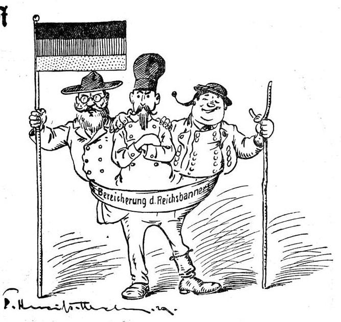 Bereicherung des Reichsbanners