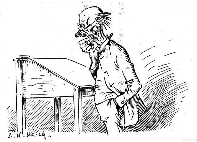 Bild: Ein durch die Staatsvereinfachung abgebauter Beamter