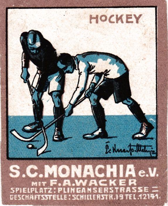 Reklamemarke S.C. Monachia