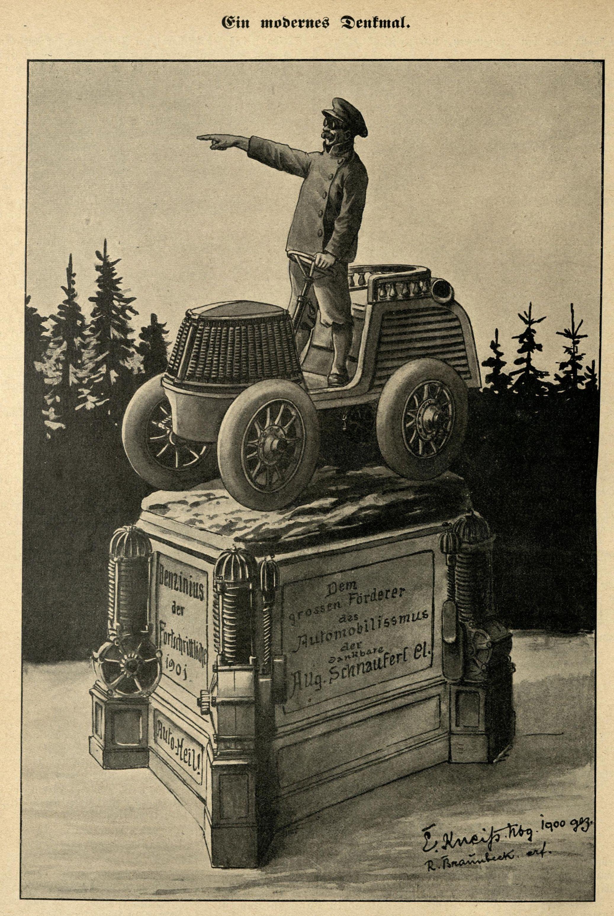 Bild: Ein modernes Denkmal