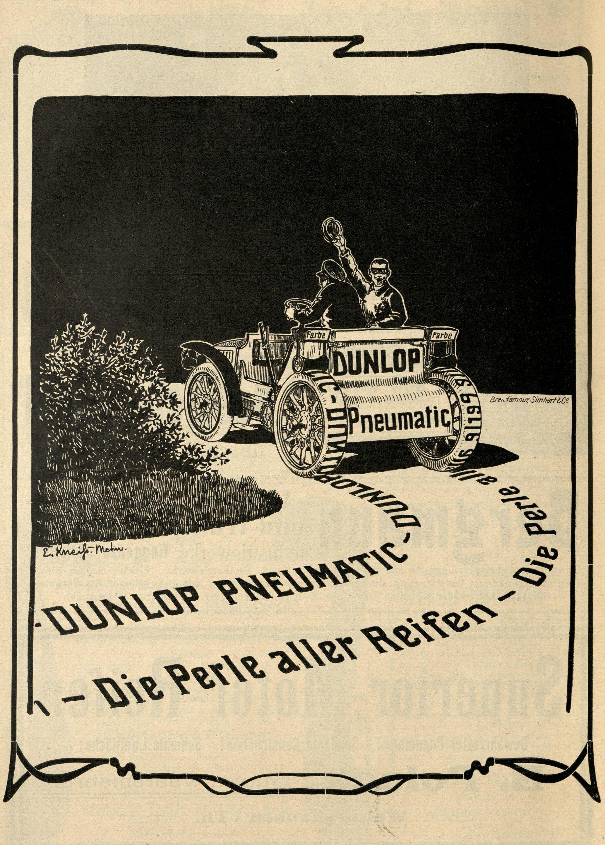 Bild: Dunlop Pneumatic - Die Perle aller Reifen