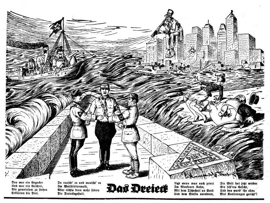 Bild: Italien tritt dem Antikominternpakt (Deutschland-Japan) bei