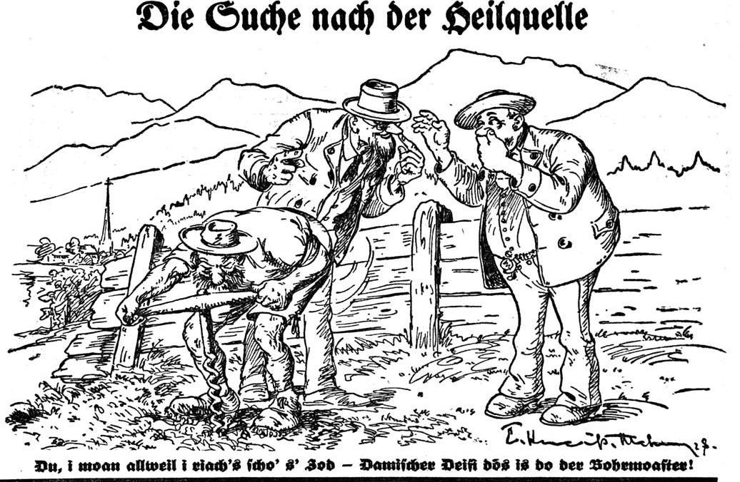 Die Suche nach einer Heilquelle (in Schliersee)