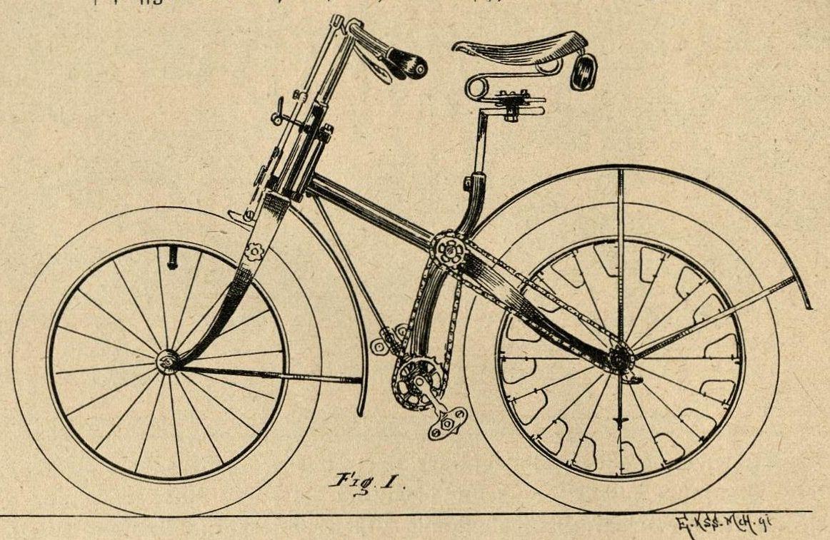 Bild: Das Universal-Fahrrad für Land und Wasser