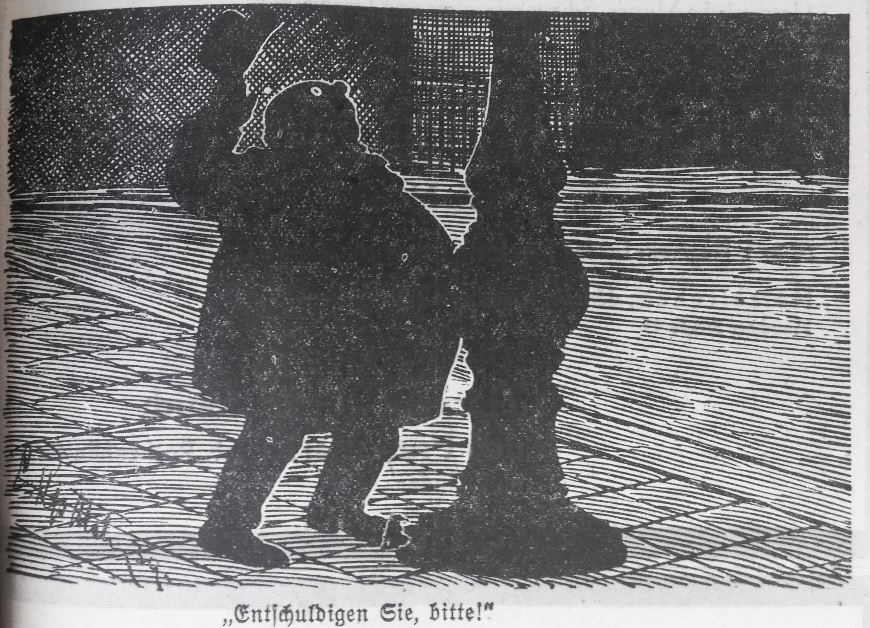 "Bild: Dicker Mann stößt an Laternenpfahl: ""Entschuldigen Sie, bitte!"""