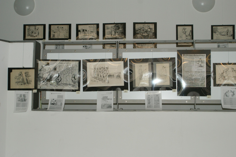 Bühne und Galerie (linker Teil)