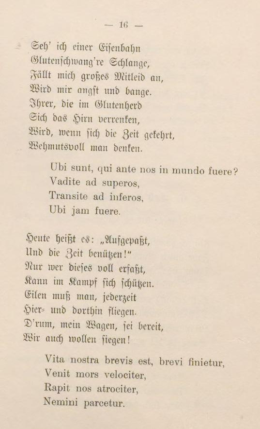 Gaudeamus 2./3. Strophe