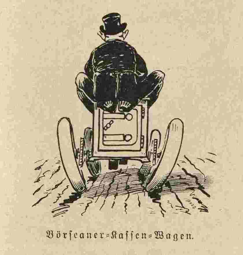 Börseaner-Kassen-Wagen