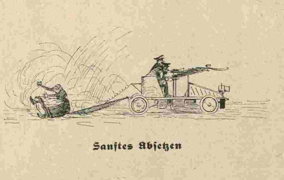Sanftes Absetzen