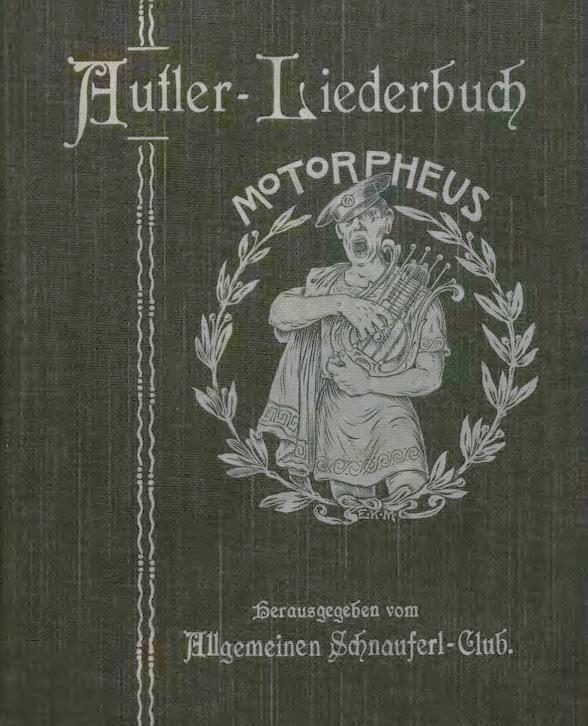 Titelblatt des Autler-Liederbuchs