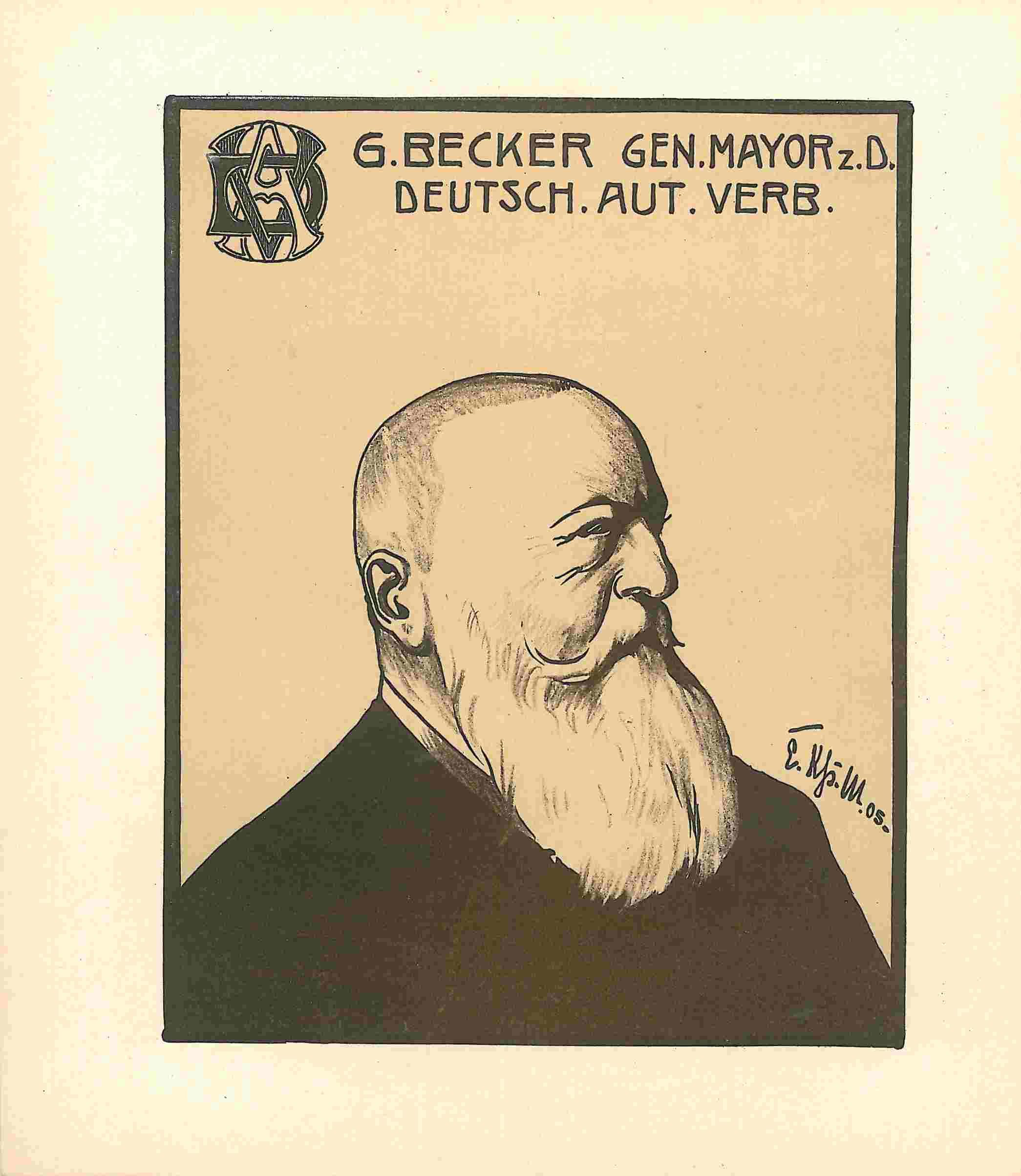 General Becker Deutscher Automobil-Verband