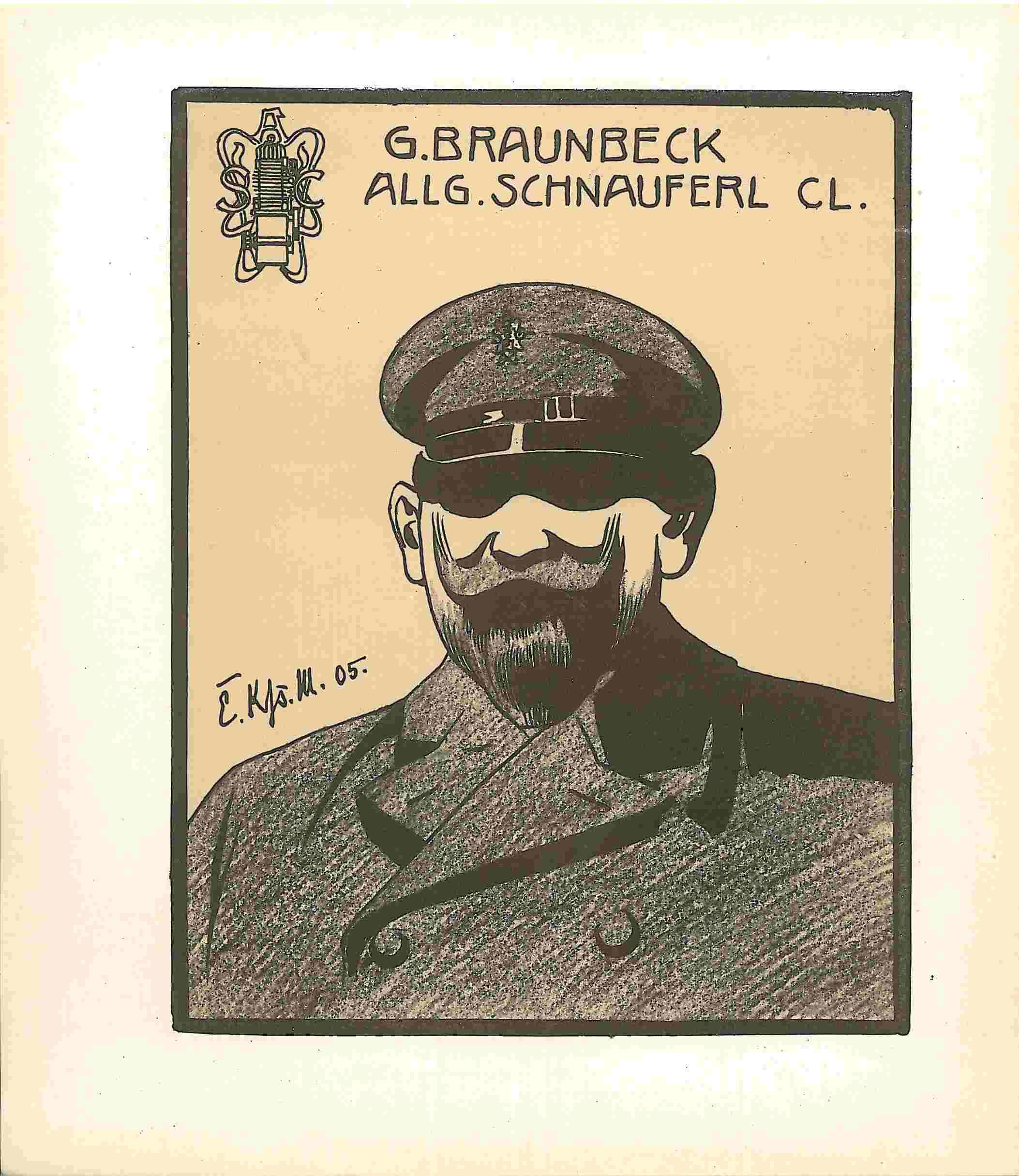 Gustav Braunbeck ASC