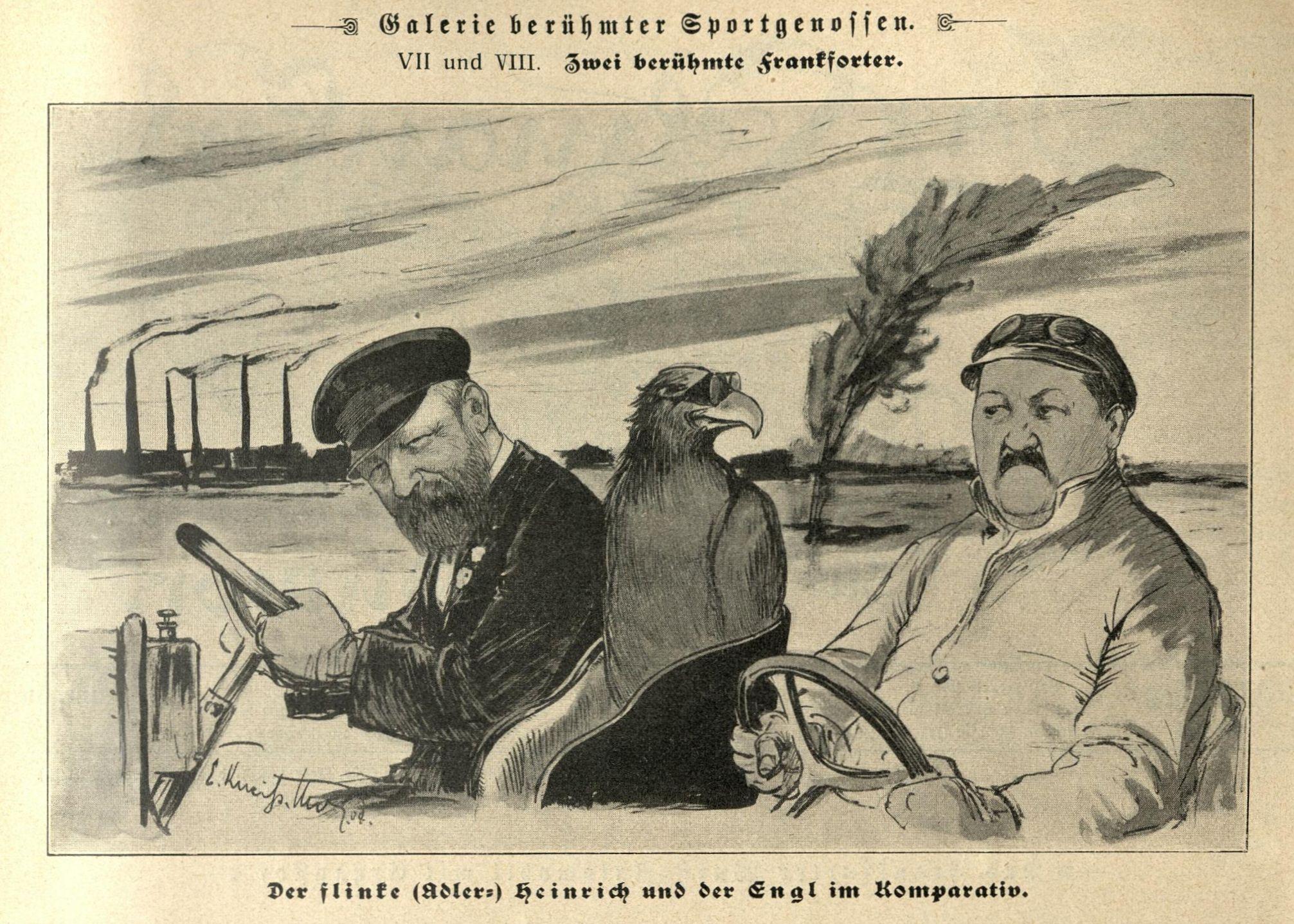 Der flinke Heinrich und der Engl im Komparativ