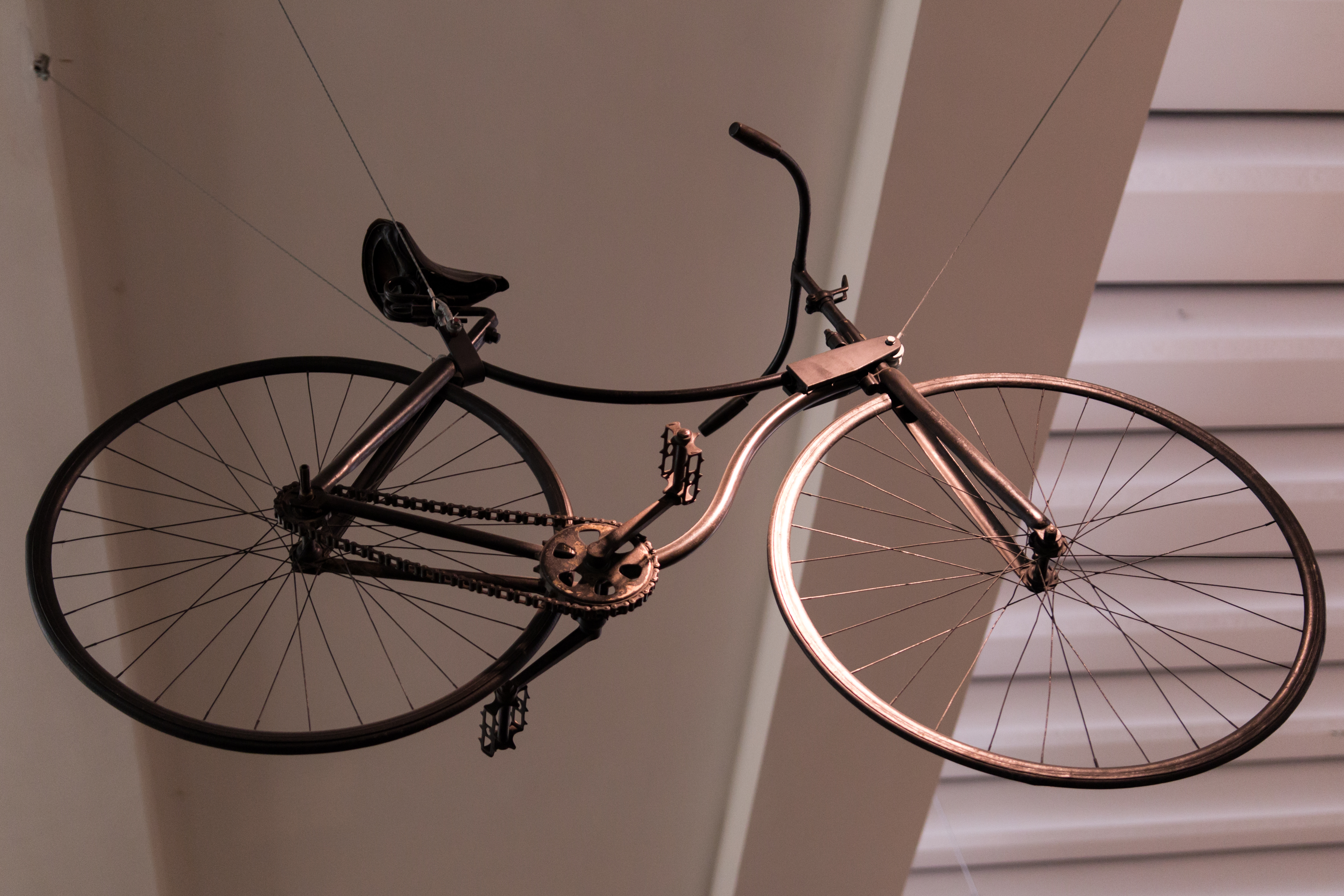 """Starley-Safety-Bicycle im """"Science Museum"""" (London)"""