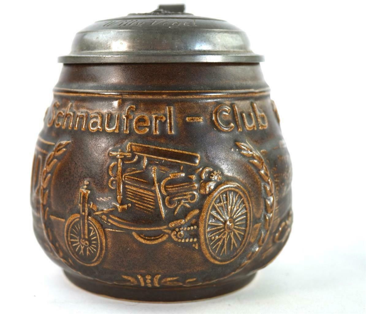 Der Benzsche Patentwagen Nr.1 auf dem Krug