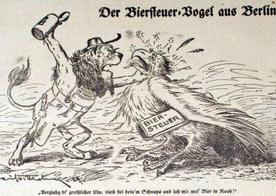Löwe gegen Adler